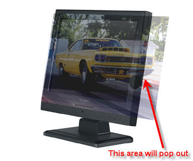 3D Computer Monitor Image image 6