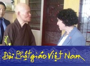 Phái đoàn Hoa Kỳ đến thăm Đức Tăng Thống & Phúc trình tình hình tôn giáo Việt Nam tại LHQ