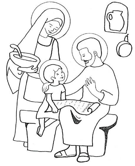 Sacra Famiglia Santa Famiglia Di Gesù
