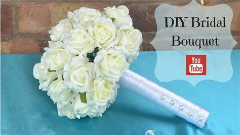 DIY Bridal Bouquet: How to create your own bridal wedding