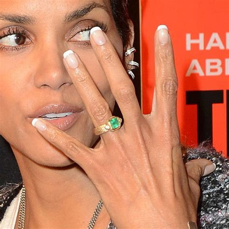 Beautiful Unconventional Celebrity Engagement Rings