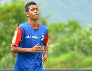 Gabriel treino Flamengo (Foto: Alexandre Vidal / Fla imagem)