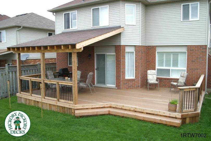 Building A Deck With Roof Deck Design And Ideas