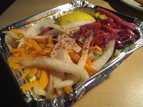 Side Salad @ FM Mangal