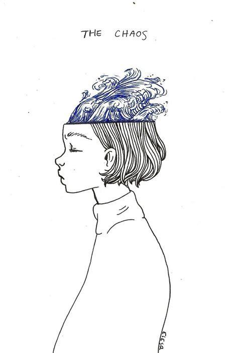 waves   mind   mind aesthetic art drawings