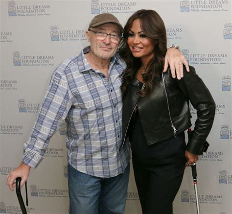IN THE AIR TONIGHT: Phil Collins' Ex Wife, Current Squeeze