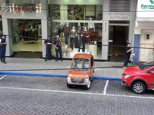 Inventor relatou a fiscais que pretendia demonstrar eficiência do veículo (Foto: Guilherme Giannoulakis/Arquivo Pessoal)