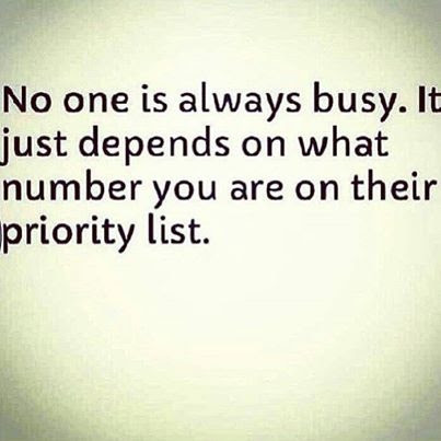No One Is Always Busy Pictures Photos And Images For Facebook