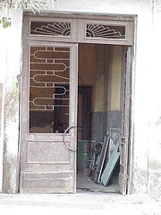 Apartment doorway, Asmara