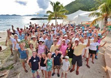 Caribbean 1500 Rally at Nanny Cay, British Virgin Islands