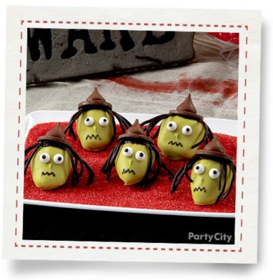 Candy Dipped Witch Strawberries by Party City