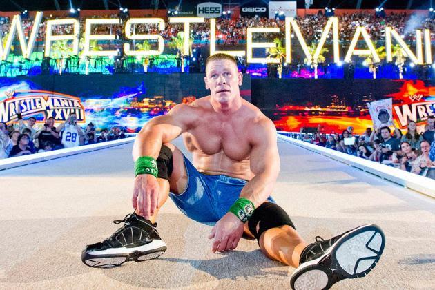Rola Johna Ceny na WrestleManii, rywal na WrestleManię 33
