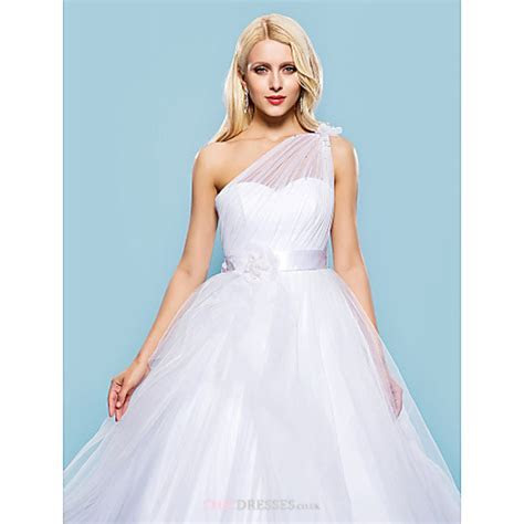 Ball Gown Plus Sizes Wedding Dress   White Court Train One