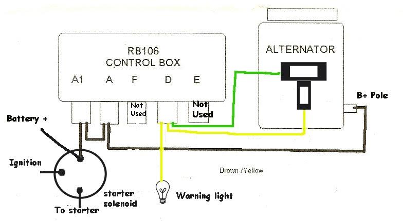 Denso One Wire Alternator Wiring Diagram