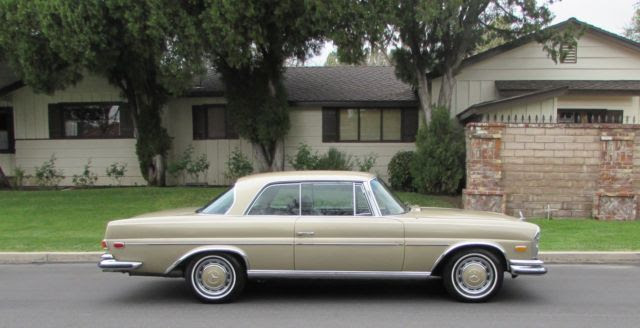 1971 MERCEDES 280SE 3.5 COUPE LOS ANGELES CALIFORNIA for ...