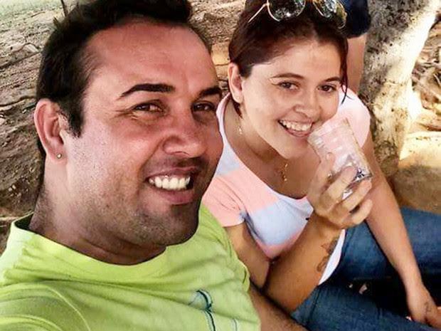 Isac Nunes Rodrigues, de 32 anos, e Daniele Raulino de Carvalho, de 29, foram baleados quando voltavam para Serrinha dos Pintos (Foto: PM/Divulgação)