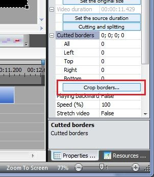 How To Crop Borders In Video Or Image