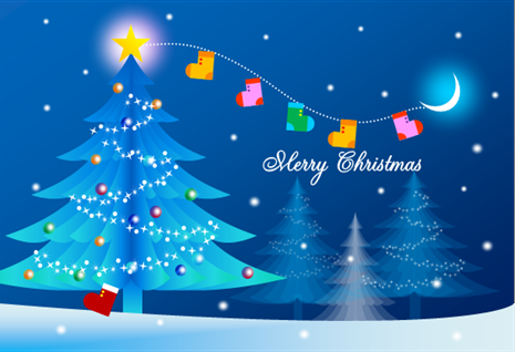 クリスマスカード 画像 素材 無料 Saruwakakun