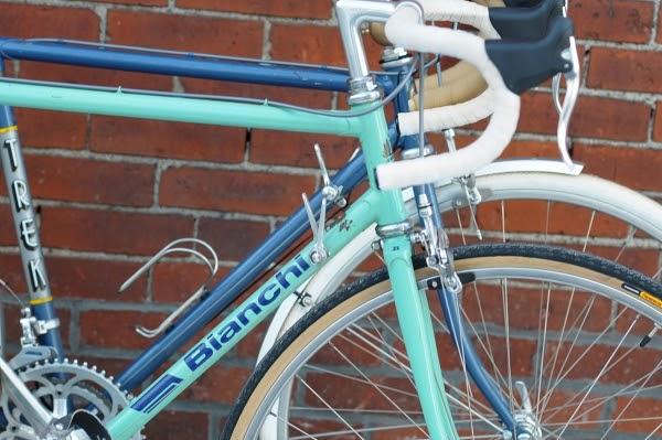 Lug Samesies Vintage Bianchi Vs Trek