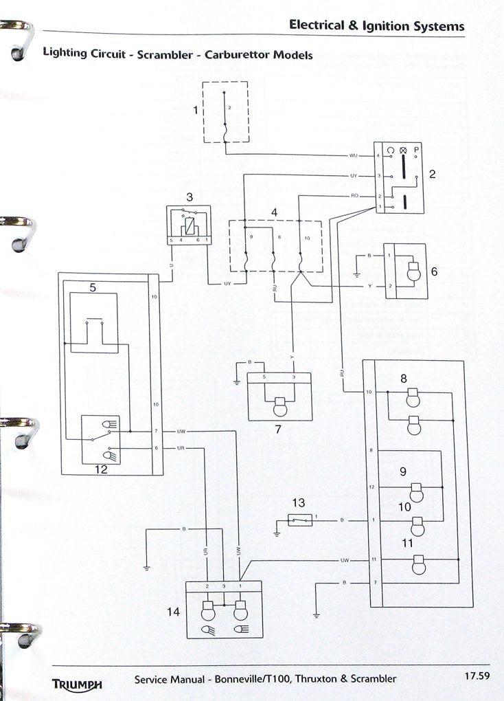 Yamaha Motorcycle Electronic Ignition Wiring Diagram