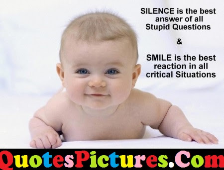 Sweet Life Quote Smile Is The Best Reaction In All Critical
