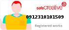 Safe Creative #0912310101509
