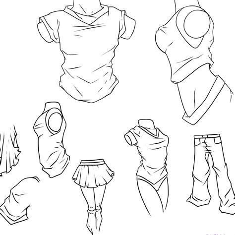 manga tutorial base tutorials clothing