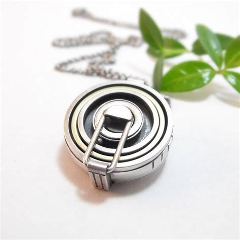 Wedding Ring Holder Pendant Ring Pendant Sterling Silver