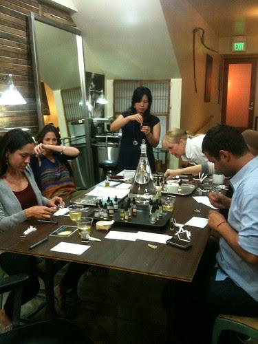 Perfume Making Class in San Francisco