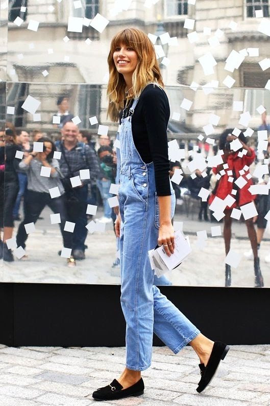 Le Fashion Blog London Street Style Veronika Heilbrunner Bangs Denim Jean Overalls Black Suede Gucci Loafers Via Vogue photo Le-Fashion-Blog-London-Street-Style-Veronika-Heilbrunner-Bangs-Denim-Jean-Overalls-Black-Suede-Gucci-Loafers-Via-Vogue.jpg
