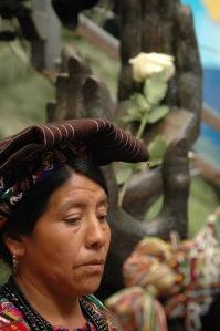 mujer paz