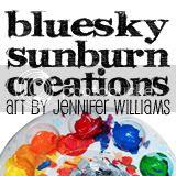 Blueskysunburn Creations Button