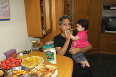 Breaking the 5 Fast Iftar time 26 July 2012 Nerjis Asif Shakir Our House Ambassador by firoze shakir photographerno1