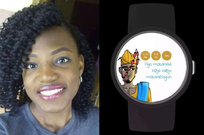 OAU Graduate Builds Android Watch That Tells Time In Yoruba