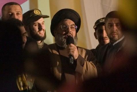 Chief Hezbollah terrorist Hassan Nasrallah.