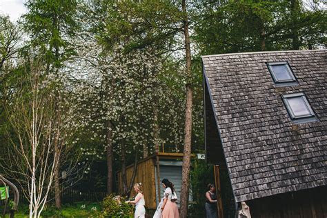 Woodland and industrial wedding in Sheffield
