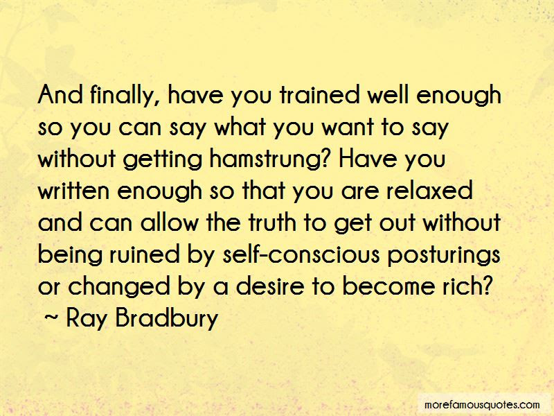 Quotes About Being Well Trained Top 19 Being Well Trained Quotes