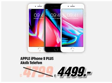 APPLE iPhone 8 Plus Akıllı Telefon 4499TL