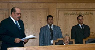 المستشار هشام بدوى المحامى العام الأول لنيابة أمن الدولة العليا