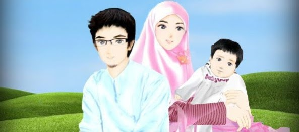 31+ Gambar Kartun Keluarga Kecil Muslim - Gambar Kartun Ku
