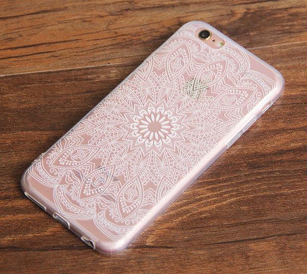 Iphone 6s Clear Case Iphone 6 Transparent Case White Retina Designs