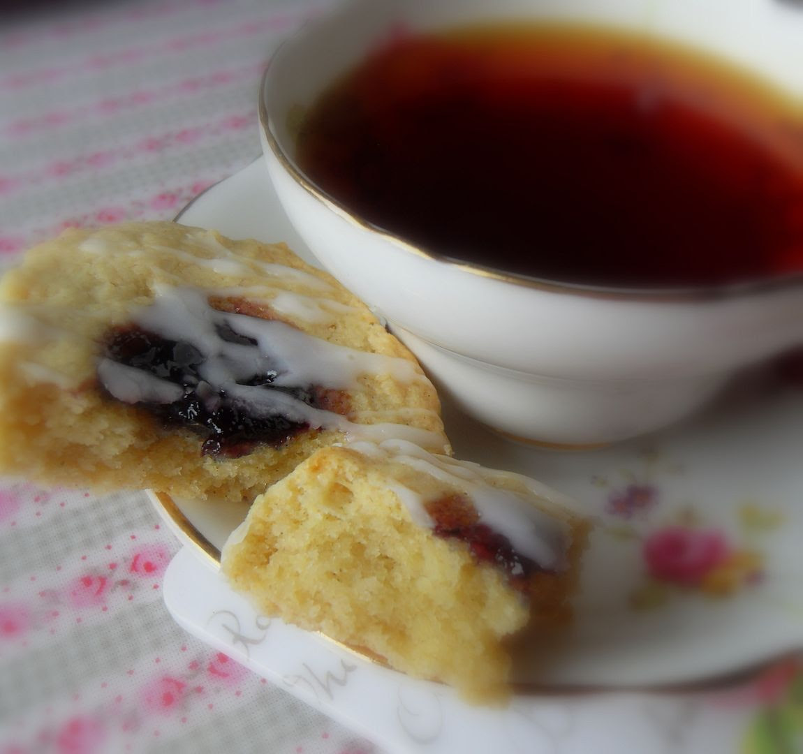 Spiced Blueberry Scones
