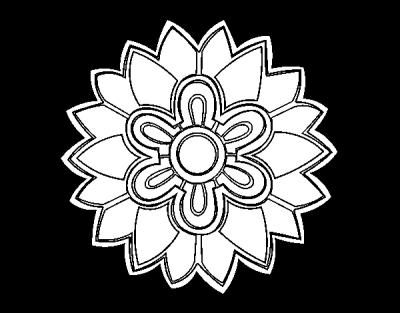 Coloriage Mandala Fleurs Pictures 6006 Transparentpng