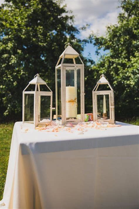 These lanterns were absolutely beautiful for our outdoor