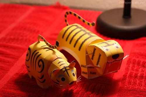 Tiger Papercraft 03