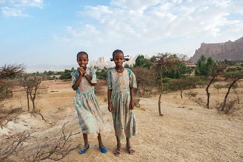 Sisters. Tigray. Ethiopia
