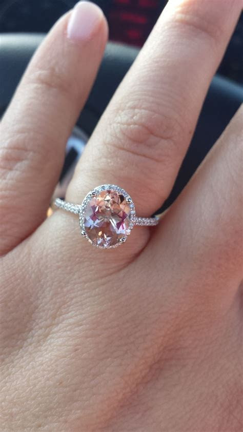 Opinion on Morganite engagement ring??! Show me your