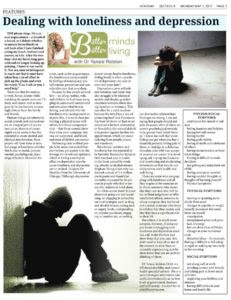 Dealing with loneliness and depression - Efficacy E.V.A.