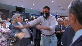 Spagna: nazionalisti spagnoli attaccano a festa catalana, sei fermati