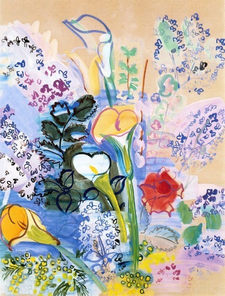Raoul Dufy, Le Bouquet d'Arum